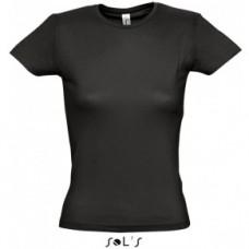 Dámske tričko čierne