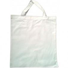 Textilná taška biela uši 35 cm