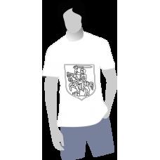 Pánske anti-stresové tričko-omaľovánka