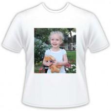 Potlač fotografie na farebné tričko